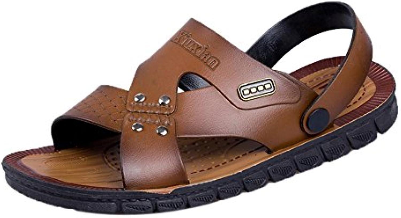Hombres Sandalias Zapatos,Hombres de Verano Casual Masaje Flip Flop Cómodo Playa Sandalias de Playa