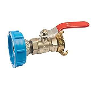 Quarzflex® IBC Adapter Kugelhahn und Schnellkupplung