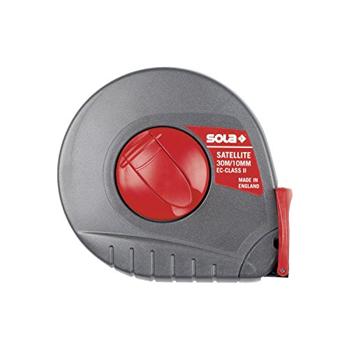 Sola 855393 Kapselbandmass,Länge m: 30,Bandbreite mm: 10 (Maßband Sola)