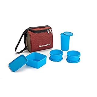 Nexxa Signora ware High quality Best Lunch Box with Bag food storage fresh lunch box kit for men and women