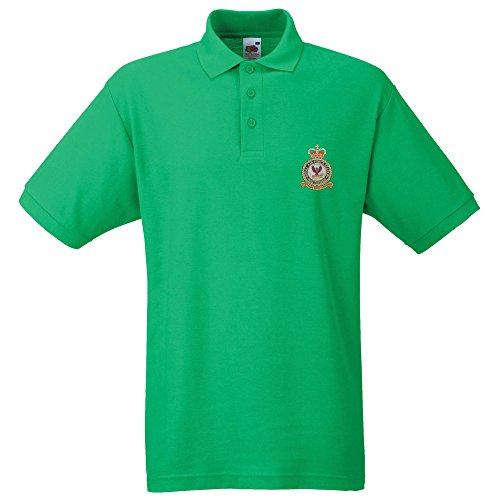RAF wattisham bestickt Polo Grün - Irish Green