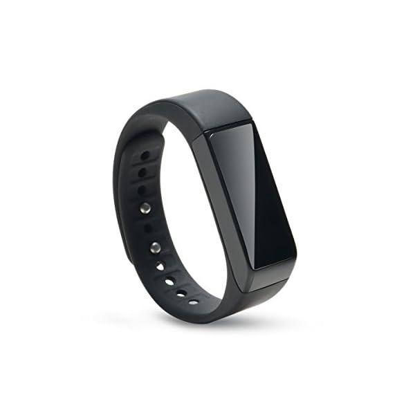 AGPTEK V07 Fitness Tracker Presión Arterial Ritmo Cardíaco Actividad Monitor Bluetooth 4.0 Pantalla OLED Pulsera… 1