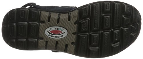 Gabor Shoes Rollingsoft, Sandali con Zeppa Donna Blu (nightblue 46)