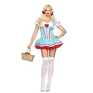Leg Avenue - Disfraz de Dorothy para mujer, talla UK 10-12 (8362825059)