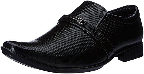 Auserio Men's Black Formal Shoes - 6 UK/India (40 EU)(SS143)