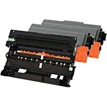 TONER EXPERTE® 2x TN3380 Tóner + DR3300 Tambor compatible para Brother HL-5440D HL-5450D HL-5450DN HL-5450DNT HL-5470DW HL-5480DW HL-6180DW HL-6180DWT MFC-8510DN MFC-8520DN MFC-8950DW MFC-8950DWT DCP-8110DN DCP-8250DN
