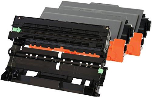 8150dn Laser (TONER EXPERTE® 2 Toner mit Trommel kompatibel zu Brother TN3380 & DR3300 für HL-5440D HL-5450DN HL-5470DW HL-5480DW HL-6180DW MFC-8510DN MFC-8520DN MFC-8950DW MFC-8950DWT DCP-8110DN DCP-8250DN)
