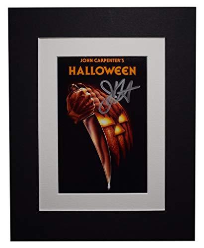 Sportagraphs John Carpenter Signed Autograph 10x8 photo display Halloween Film AFTAL COA