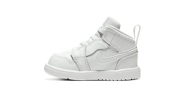 Nike Jordan 1 Mid Alt (TD), Basket Mixte Enfant: