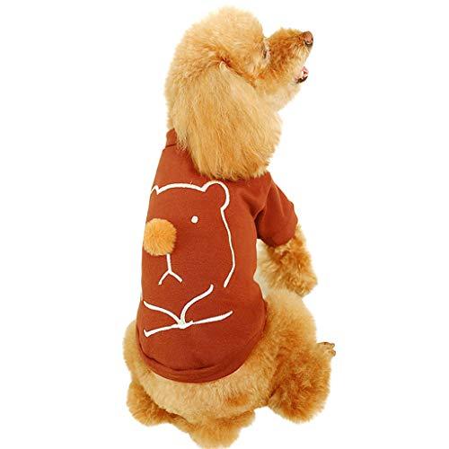 Haustier Katze Hund Pullover,Hundekleidung, Hundemantel Hundejacke Hundepullover Warm Winter Kapuzen-Sweatshirt Haustier - Günstige Clubwear Kostüm