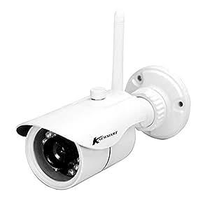 Ip camera wifi esterno Impermeabile IP Telecamera Visione Notturna all'Aperto 720p H.264 ONVIF Esterno/Interno