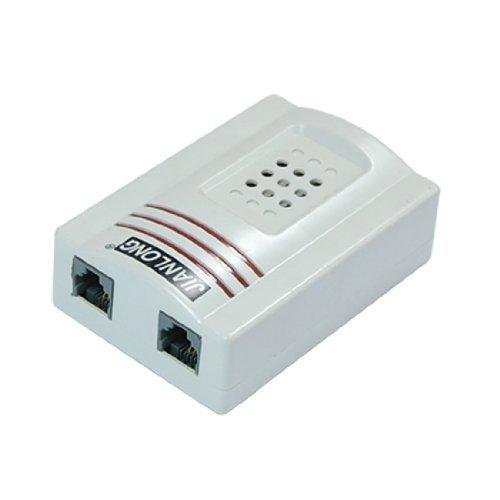 DealMux RJ11 Adapter Louder Telefon Ringblitz Verstärker-Wecker für Festnetztelefon