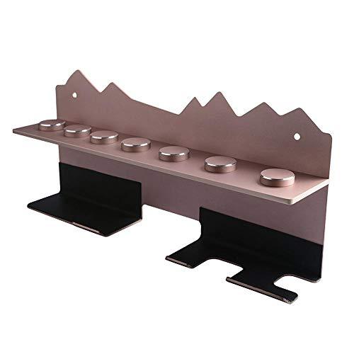 Wandhalterung für Dyson Airwrap Styler / 7 Lockenstab - Aluminium Halterung für Dyson Lockenwickler Wandhalterung Schwarz