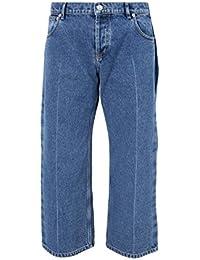 Balenciaga Femme 446445TSB064762 Bleu Coton Jeans