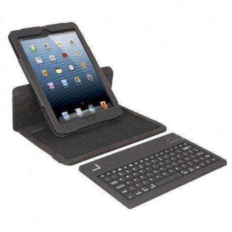 f99ea1f2c2 Urban Factory SKI78UF Pack de Etui Folio en Feutrine/Silicone pour iPad  Mini 7,8
