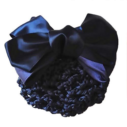 Frauen Haarknoten Abdeckung Net Snood Haarnetz Bowknot Decor Haarspange Haarspange Bogen Spitze Blume Haarschmuck