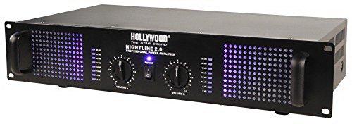 2400 Watt DJ Verstärker Musik-Equipment PA-Endstufe Musikanlage Nightline 2.0 1200 schwarz