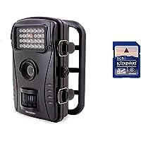 Boblov Video traccia & Game LED bianco 850nm infrarossi Scouting Farm Security Camera 8MP 720P Gamma di rilevamento 15m di visione notturna a infrarossi IP56 impermeabile / Audio Record RD1003
