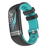 TLfyajJ Smartwatch Impermeable Reloj Fitness Pulsómetro de Pulsera Smart Watch Fitness Activity Tracker podómetro Reloj Deportivo para Mujer Hombre para Teléfonos Android E iOS