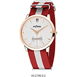 Reloj Cab Gold Plated Pink Nylon Strap