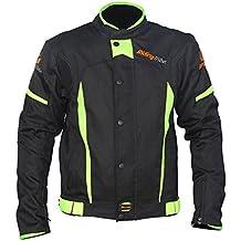 Chaqueta para motociclista de LKN, chaqueta protectora para el cuerpo, ideal para primavera y