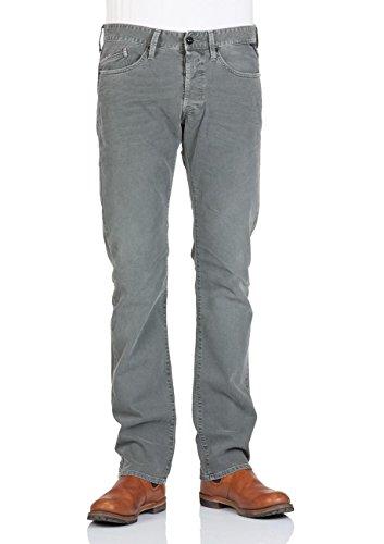 Replay Herren Jeans Waitom Regular Fit - Slim Leg - Grün - Bottle Green Bottle Green (040)