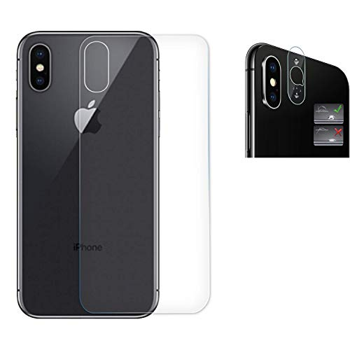 Protector Trasero iPhone XS MAX + Lente Protector