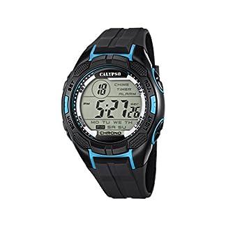 Calypso watches K5627/2 – Reloj de Pulsera Hombre, plástico, Color Negro