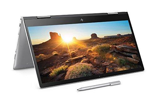 HP Envy x360 15-BP107na 15.6-inch FHD Convertible Laptop with Stylus (Natural Silver) - (Intel Core i5-8250U, 8 GB RAM, 128 GB SSD,1 TB HDD, Intel HD Graphics 520, Windows 10 Home)