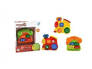 Globo Toys Globo 5169 Vitamina_G 2 - Peluche Musical con Sonidos