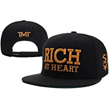 Shoekurla-TY Unisex Adjustable Fashion Leisure Baseball Hat TMT Courtside Snapback Dual Colour Cap