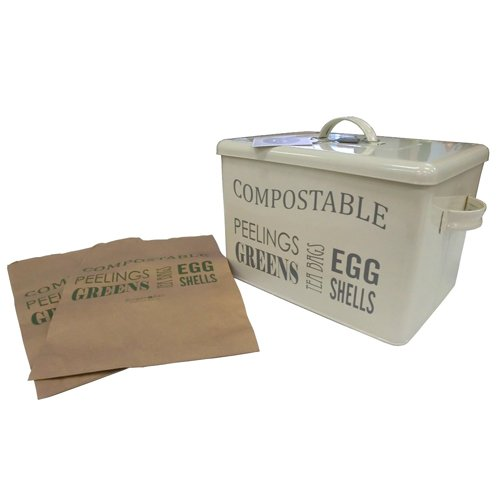 Burgon & Ball Poubelle à compost Crème Jersey