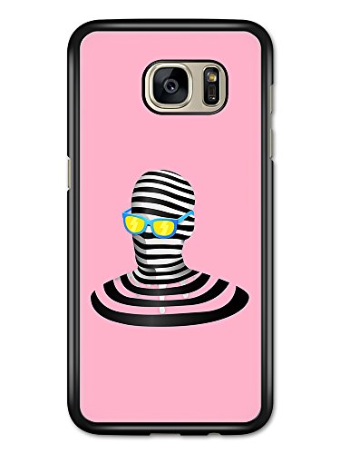 Micro Gorilla Trippy Invisible Man with Sunglasses and Pop Paint Splat Cool Design hülle für Samsung Galaxy S7 Edge