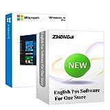 ZHONGJI Microsoft Windows 10 Pro avec clé USB pour point de vente logiciel de caisse enregistreuse