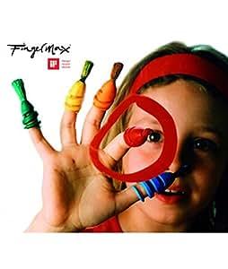 12 Pinceaux à doigt Fingermax