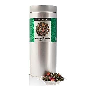 Supreme Cherry Sencha - Cherry Blossom Flavoured - Loose Green Tea - Large 150g Tin