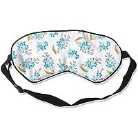 Blue Flower Artwork Sleep Eyes Masks - Comfortable Sleeping Mask Eye Cover For Travelling Night Noon Nap Mediation... preisvergleich bei billige-tabletten.eu