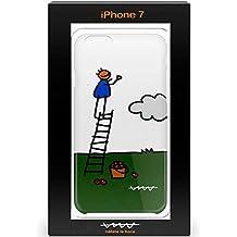Callate la Boca CBCAR010 - Carcasa Funda para Apple iPhone 7, Escalera