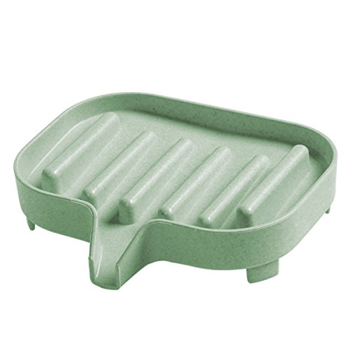 WFYJY bad-soap box einfach abtropfen soap box seife soap dish soap rack seifenhalter.grüne (Dish Rack Mini)