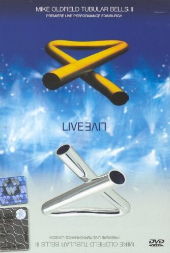 : Mike Oldfield - Tubular Bells 2 & 3 live (DVD)