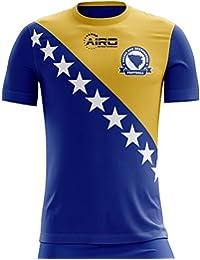 Airo Sportswear 2018-2019 Bosnia Herzegovina Home Concept Football Soccer T-Shirt Camiseta