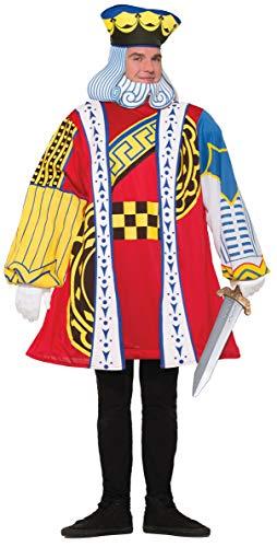 Kostüm Herzkönig (Größe 42-44) von Forum Novelties, 76831
