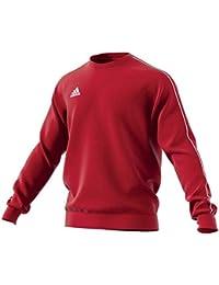 Adidas CORE18 SW Top Sudadera, Hombre, (Rojo/Blanco), M