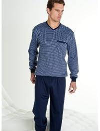 CALIDA 44516 Finn Pyjama mit Bündchen