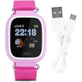 Denash Reloj Inteligente WiFi, Pantalla táctil para niños, Reloj ...