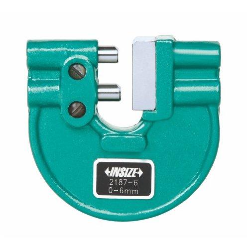 Insize 2187–6verstellbare Snap Gage, 0–6mm