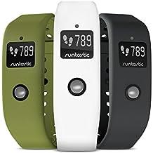 Runtastic Lot de 3 bracelets pour Orbit Vert/Blanc/Gris