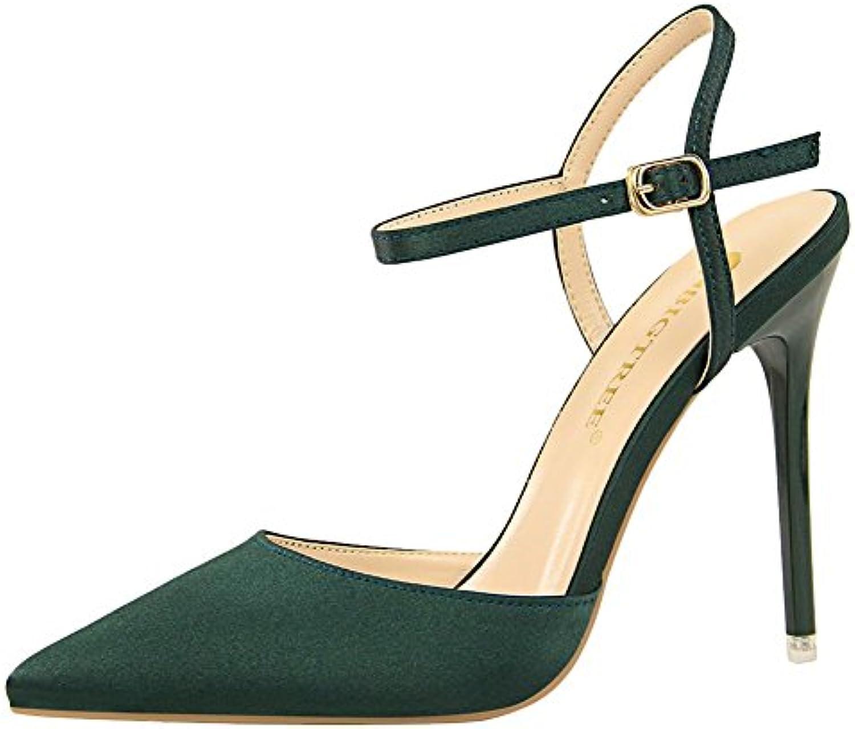 0ddc72ae120 Carolbar Women s Elegant Sandals Sexy Pointed Toe High Heel Stiletto Dress  Women s Dress Sandals B07BGWPK8C Parent c43d086 - www.answerdaddy.com