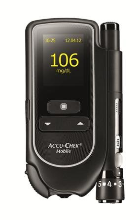 Accu-Chek Mobile mg/dL, 1 St Dl Mobile
