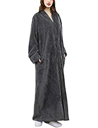 Amazon Fr Robe De Chambre Longue Femme 130 Cm Gris Vêtements